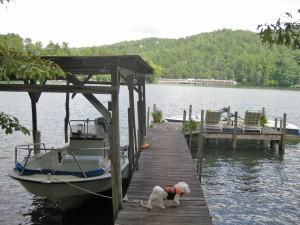 View of Boat Slip-Dock-8-26-13